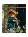 No Walk Today, 1856 Giclee Print by Sophie Anderson