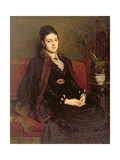 Portrait of Lady Orchardson (C.1854-1917) C.1875 Giclee Print by Sir William Quiller Orchardson