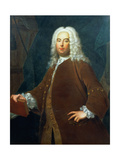 Portrait of George Frederick Handel (1685-1759) C.1736 Giclee Print by Thomas Hudson