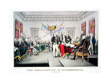 Signing the Declaration of Independence, July 4th, 1776 Engraved and Pub. by Nathaniel Currier… Giclee Print by John Trumbull