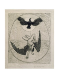 Icarus Giclee Print by Hans Thoma