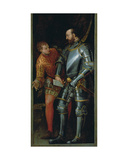 Warrior Handing a Letter to a Page Giclee Print by Paolo Veronese