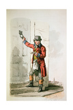 The Postman from 'Costume of Great Britain', 1805 Giclee Print by William Henry Pyne