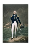 Sir Horatio Nelson, K.B., Rear Admiral of the Blue, Engraved and Published by William S. Barnard… Giclee Print by Lemuel Francis Abbott