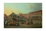 Covent Garden Market and St. Paul's Church, C.1737 Giclee Print by Balthasar Nebot