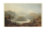 View of the Mondego River, Spain, 1813 Giclée-Druck von John Varley