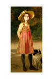 The Artist's Daughter, Hilde Giclee Print by Frederich August Kaulbach