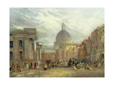The Old General Post Office and St. Martin's-Le-Grand, 1835 Giclee Print by George Sidney Shepherd