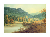 Dunkeld Cathedral Giclee Print by Hugh William Williams