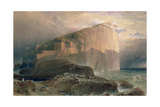 The Bass Rock, East Lothian, 1870 Giclee Print by William Leighton Leitch