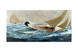 Winning the Cup Giclee Print by Charles Napier Hemy