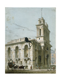 St. Mary Woolnoth: Lombard Street Giclee Print by George Sidney Shepherd
