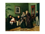 The Doctor's Waiting Room, 1870 Giclee Print by Vladimir Egorovic Makovsky