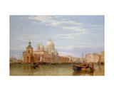 The Grand Canal, Venice Giclee Print by George Clarkson Stanfield