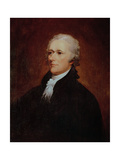 Portrait of Alexander Hamilton (1757-1804) Giclee Print by John Trumbull