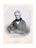 Sir William Cubitt (1785-1861) 1850 Giclee Print by Thomas Herbert Maguire