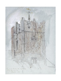The Tower of Trinity Church, Richmond, 1867 Giclee Print by John Ruskin