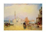 Venice: Giudecca Giclee Print by James Baker Pyne