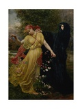 At the First Touch of Winter, Summer Fades Away Giclee Print by Valentine Cameron Prinsep
