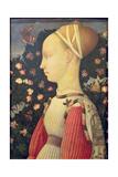 Portrait of Ginevra D'Este, C.1436-38 Giclee Print by Antonio Pisanello