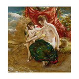 Love's Angling, 1831 Giclee Print by William Etty
