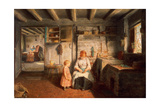 Preparing for Dinner, 1854 Giclee Print by Frederick Daniel Hardy