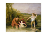 The First Voyage Giclee Print by William Mulready