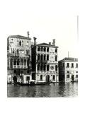 View of (Ltor) Palazzo Barbaro and Palazzo Dario Giclee Print