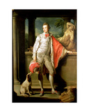 Thomas William Coke, (1752-1842) Later 1st Earl of Leicester (Of the Second Creation) 1774 Giclée-tryk af Pompeo Girolamo Batoni