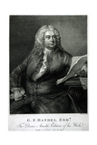 George Frederick Handel (1685-1759), Engraved by William Bromley (1769-1842), for Doctor Arnold's… Giclee Print by Thomas Hudson