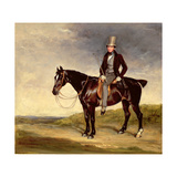 John Hay-Mackenzie on His Dark Bay Cob Giclee Print by Sir Francis Grant