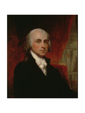 Portrait of James Madison (1751-1836) Reproduction procédé giclée par George Peter Alexander Healy