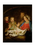 The Adoration of the Shepherds Giclee Print by Matthias Stomer