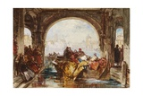 The Doge's Watergate at Venice, C.1830 Giclee Print by George Cattermole