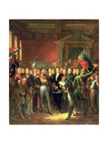 The Reading of the Declaration of Deputies, 1830 Giclee Print by Francois Pascal Simon, Baron Gerard
