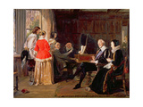 A Madrigal Giclee Print by John Callcott Horsley
