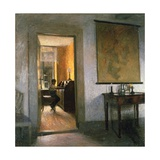 Boy Studying Giclee Print by Peter Vilhelm Ilsted