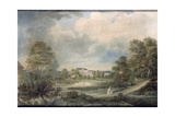 View of Safslaholm Castle in Sweden Giclee Print by Johan Fredrik Julin