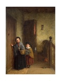 Christmas Visitors, 1869 Giclee Print by Frederick Daniel Hardy