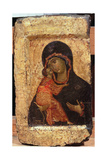 The Vladimir Madonna and Child, Russian Icon, Moscow School Giclee Print by Andrei Rublev