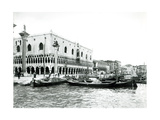 View of Palazzo Ducale and the Riva Degli Schiavoni Giclee Print