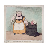 "P.265-1948 ""Oh, That This Too, Too Solid Flesh Would Melt"", Quotation from Hamlet, Act I. Scene… Giclee Print by James Gillray"