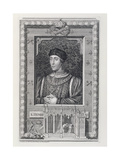 Henry VI (1421-71) King of England 1421-66 and 1470-71, after a Portrait in Kensington Palace,… Giclee Print by George Vertue