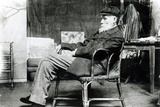 Auguste Renoir (1841-1919) in His Studio Photographic Print by  Dornac