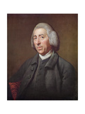 Portrait of Lancelot Capability Brown (1716-83) Giclee Print by Nathaniel Dance-Holland