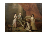 Felice De Giardini (1716-96) Giclee Print by John Francis Rigaud