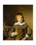 Portrait of a Young Boy Giclee Print by Isaac Luttichuys