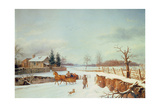 Winter Landscape Giclee Print by Constantine Stoiloff