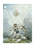 Painting for the Lodge of the Companions, C.1787 Giclee Print by Philip James De Loutherbourg