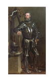 Portrait of Pase Guarienti (1500-C.63), Venetian Knight and Noble Giclee Print by Domenico Brusasorci